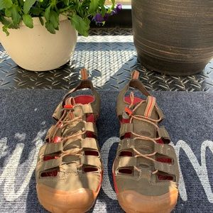 Keen Shoes - KEEN sandals brown and red size 8